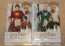 Lot Harry Potter And Draco Malfoy Quidditch Collectible Dolls 11 2018 Mattel
