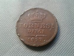 Old Coins World/foreign Coins 1857 Italy Naples And Sicily Collectibles