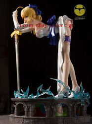 Hobbyhouse 1/4 Saber Base Table Lamp Fate Stay Night Gk Limited Statue Figure