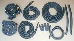 1968 Chevelle 442 Weatherstrip Seal Kit 10pc Usa Rubber Door Roof Trunk Cowl