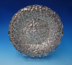 Repousse By Shiebler Sterling Silver Bowl 2678 1 1/4 X 9 1/4 4973