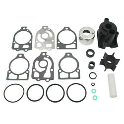 For Mercury 75 80 90 115 140 150hp Water Pump Impeller Kit 18-3314 46-73804a3