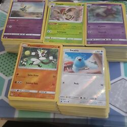 100 Pokemon Cards Lot Commons And Uncommons