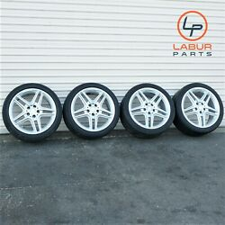 +w408 W212 Mercedes 10-13 E Clas 18 Inch Wheels Tires E550 Amg Package Staggered