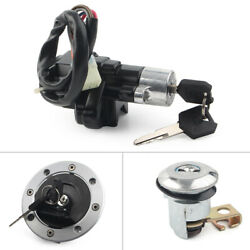 For Suzuki Sv650 Motorcycle Ignition Switch Fuel Gas Cap Seat Lock Key New