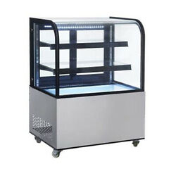 Nsf 36 Inch Curved Glass Bakery Display Case Arc270y Free Shipping