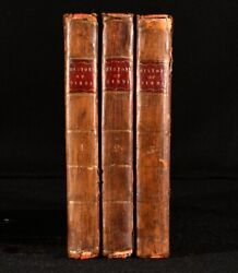 1786-1789 3vol The Natural History Of Birds Scarce Illustrated Study Ornithology