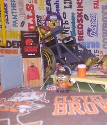Nfl Teenymates Cleveland Browns Coach Exclusive Figure 2019 14-pc Boxed Set