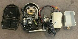 93 Seadoo Sp Electrical Box, Cdi, Rectifier, Ignition Coils, Stator, Pto Cover
