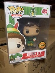 Funko Pop Buddy The Elf Jack-in-the-elf 484 Chase New Vaulted Protector