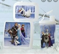 Tupperware Disney Frozen Lunch Set Kids Sandwich Keeper, Packables Container And