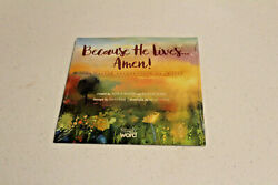 Because He Lives...amen New Sealed Cd 2016 Easter Celebration Of Praise
