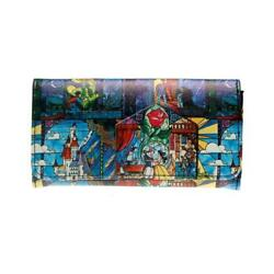 Beauty Beast Clutch Wallets Women#x27;s Printing Coin Purses Credit Card Holder New $24.99