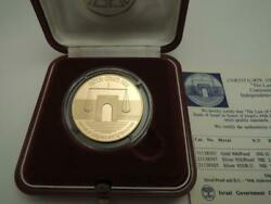 1992 44th Anniversary The Law Of Israel Proof Coin 0.5 Oz Gold + Box + Coa
