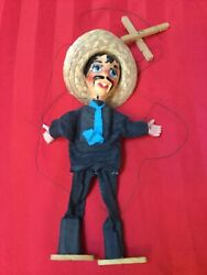 Mexican Man Marionette Stringed Puppet