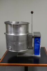Cleveland Ket-12-t 12 Gallon Tilting Steam Jacketed Electric Kettle