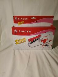 Stitch Sew Quick Hand Held Sewing Machine Cordless Repair Handy Portable Singer