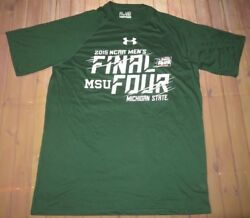 Basketball 2015 Ncaa Final Four Michigan State Spartans Shirt Md Under Armour