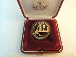 1988 Independence Day Israeland039s 40th Anniversary 0.5 Oz. Gold Coin + Box + Coa