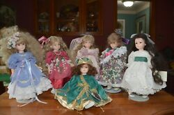 Robin Woods 1990 Love Letter Collection - Includes All 6 Vinyl Dolls In Boxes
