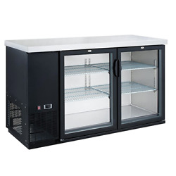 Dukers Dbb60-h2, 2 Swing Door Bar And Beverage Cooler Free Shipping