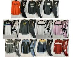 Shift Mx Racing Whit3 Label Jersey And Pant Combo Gear Set Motocross Atv/mtb And03921