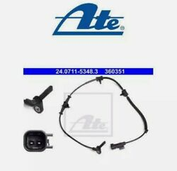 Ate Front Abs Wheel Speed Sensor 240711-53483 P New Oe Replacement Vaxhall