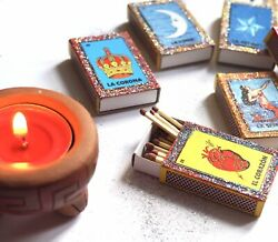 Mexican Favours | Mexican Bingo | Set Of 4 Mexican Matches | Mexican Loteria
