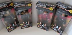 Star Trek Series Of 4 Ea. 9 Inch Figures Movie Edition Toys Collectables Posters