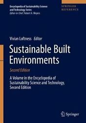 Sustainable Built Environments By Vivian Loftness 9781071606834   Brand New
