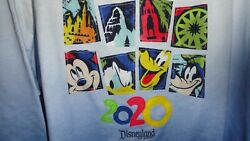 3x Womanand039s 2020 Disneyland Ombre Pullover Sweatshirt Nwt