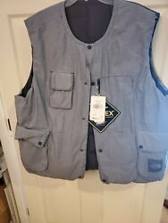 Mens The Cryos Reversible 800-down Insulated Puffer Vest - Indigo Xxl
