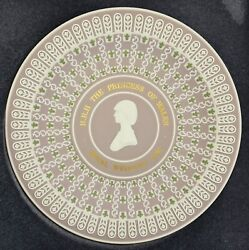 Wedgwood Jasper Tricolour Plate, Lady Diana's Marriage To Charles.