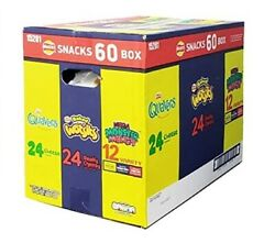 Walkers Snack Mix Party Box Quavers Baked Wotsits Mega Monster Munch Pack Of 60