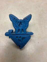 Boy Scout Eagle Scout Society Knights Of Dunamis Neckerchief Slide - Torchy