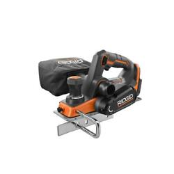 18 Volt Octane Cordless Brushless 3-1/4 In Hand Planer Powerful 5.55lb Tool Only