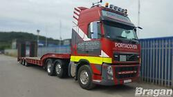 To Fit Volvo Fm Series 2and3 Globetrotterxl Roof Bar + Led + Spots + Beacon + Horn