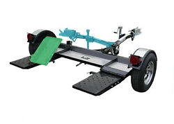 Premium Stow And Go Folding Car Tow Dolly With Surge Brake Rv Trailer 4,900 Lbs