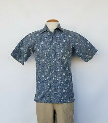 Vtg Ono By Liberty House Front Button Hawaiian Shirt Small In Excell Cond