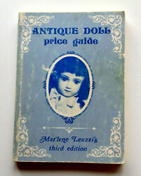 Vintage Antique Doll Collector Book And Price Guide Steiff, Snowbabies, Toys Etc