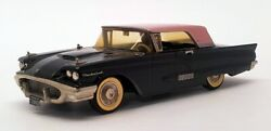Aands 1/43 Scale Model Car Asf1958 - 1958 Ford Thunderbird - Black/pink