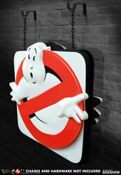 Hollywood Collectibles Exclusive Ghostbusters Firehouse Sign Replicain Stock