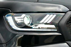 Mustang Style Head Lights For Ford Ranger 2016-2022 Complete With Bulbs