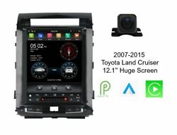 Android 12.1 Gps Navigation Bluetooth Radio Stereo Car Player W/ Cam For Toyota