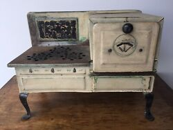 Vintage 1930's Empire Metal Ware Toy Stove Oven - Rare