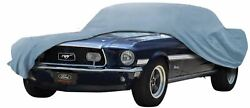 Oer Diamond Blue Indoor Car Cover 1971-1973 Ford Mustang Couple And Convertibles
