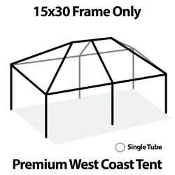 15x30and039 West Coast Tent Frame Only Commercial Anodized Aluminum Replacement Frame
