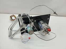 6-port Hplc Auto Injector Valve 228-21055-91 W/ Sample Loop And Solenoid