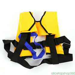 5 Pieces Life Jacket Inflatable Nylon+tpu Survival Vest For Sailing Boating New