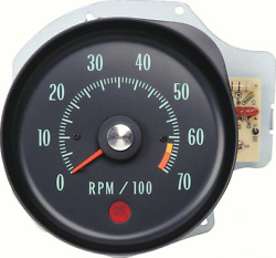 Oer L34 Ls5 Tachometer 6500 Rpm 1970 Chevy Chevelle Ss And Monte Carlo